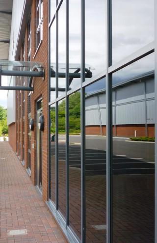 York Park Glazed entrance