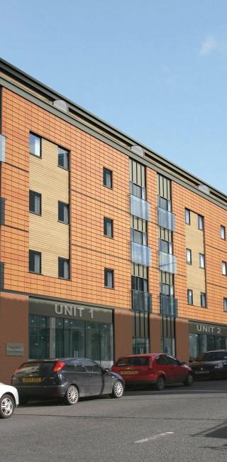 080228-07 Bradford Street Birmingham - Block A (Perspective)