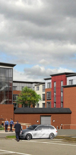 Harborne Proposed Rear View